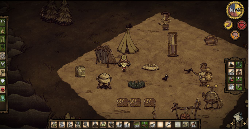 bespectacled, life, things I like series, Don't Starve Klei Entertainment