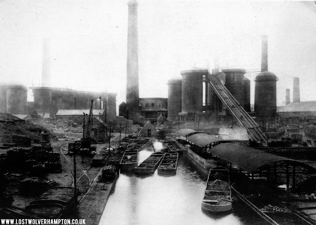Springvale pictured in 1910 showing the recently added hand-fed Furnaces.