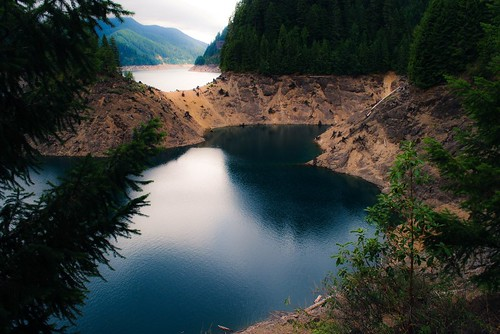 Blue Water At Cougar
