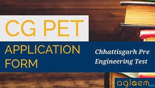 CG PET 2016 Application Form and CG PPHT 2016 Application Form