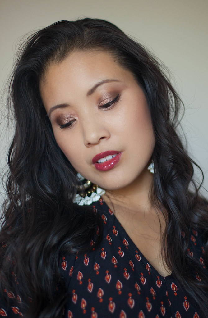 cute & little blog | neiman marcus x bobbi brown fall lipstick | desert plum lipstick