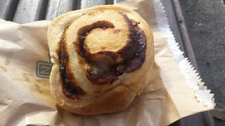 Vegemite and Cheese Scroll  from Smith & Deli