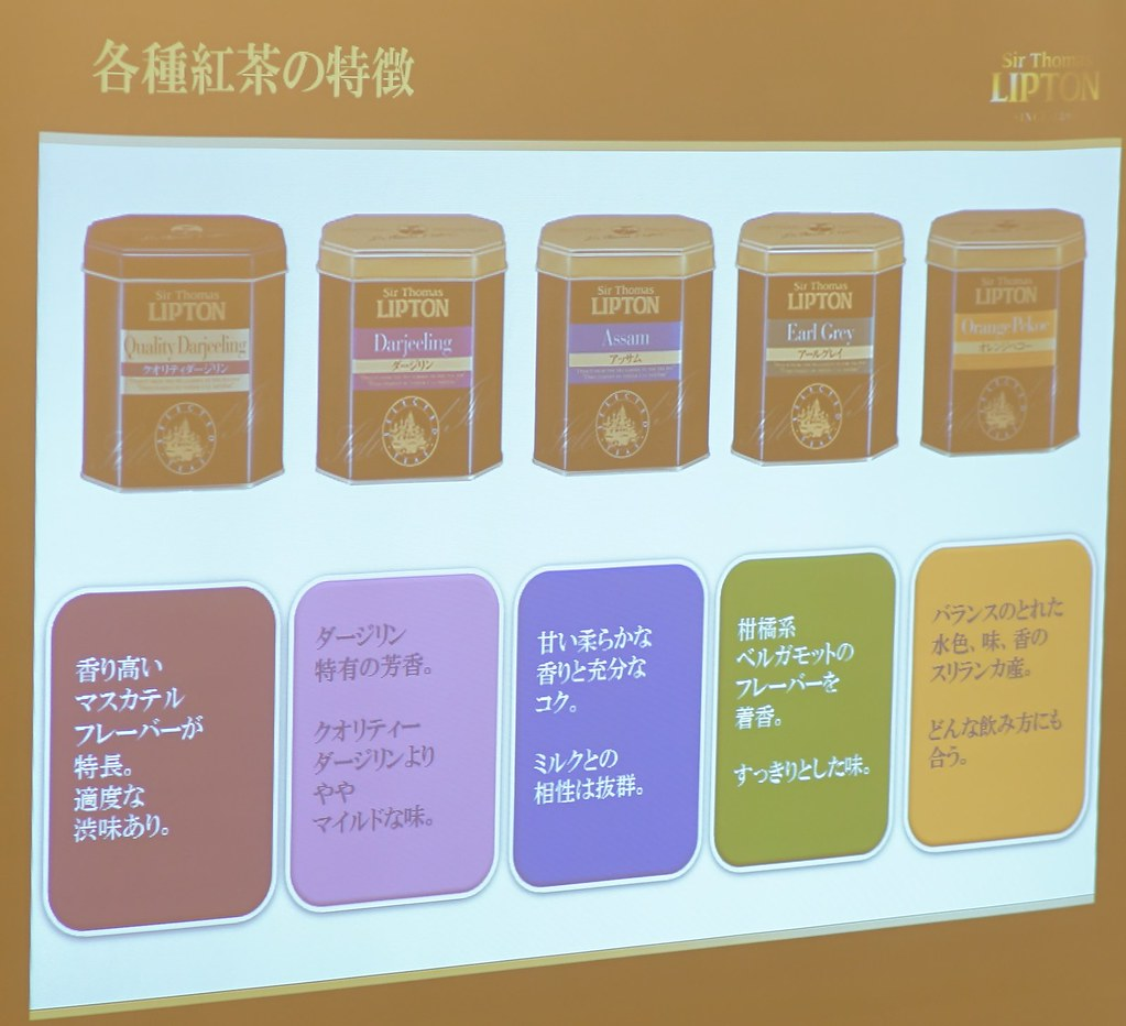 Sir Thomas LIPTON新製品プレス発表会&紅茶体験セミナー18
