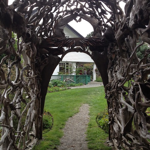 Driftwood Arch, Sooke Harbour House