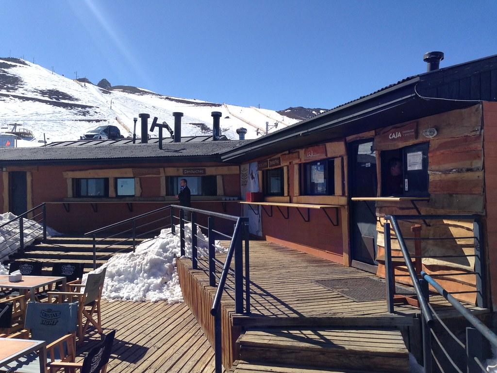 On-mountain lodge