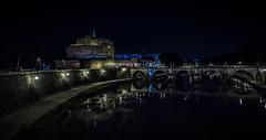 Castel Sant'Angelo and Ponte Vittorio Emanuele ll