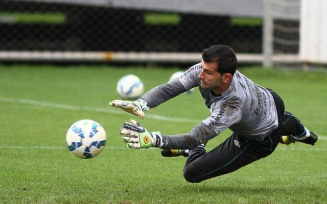 Bruno Grassi garante estar preparado para sequ�ncia no gol do Gr�mio