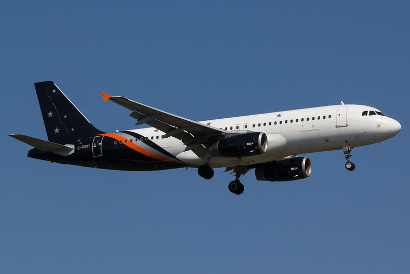 Titan Airways - A320 - G-POWI (1)