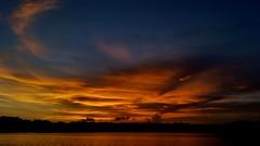 Bayou Texar Sunset