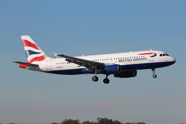 G-GATJ Airbus A320-232 British Airways