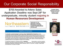 Arlene Salas 2015-16 NEIU Scholarship Winner