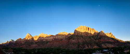park sunset panorama moon mountain price utah us nationalpark unitedstates outdoor dusk brandon canyon national zion springdale zioncanyon 2015 brandonprice