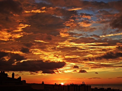 españa sol sunrise mar spain andalucia amanecer cielo nubes costadelsol mediterráneo málaga marbella