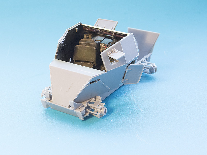 Projet Normandy : Dingo MK.III // Miniart // 1/35 22626963214_2e5f4c12d8_c
