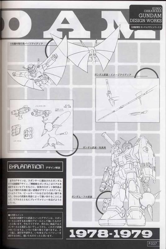 百變風格! 造型至上!!! 鋼彈機械設計師列傳~