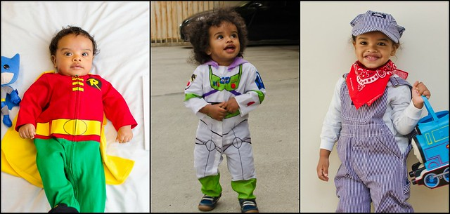 Xavi's Halloween costumes