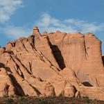 Sandstone fins, Arches