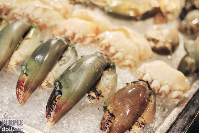 Raw Seafood Crabs