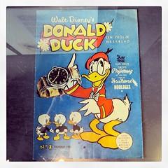 Eerste Donald Duck in Nederland #donaldduck...