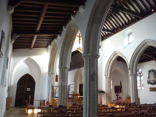 Interior, St. Mary's Church, Wendover
