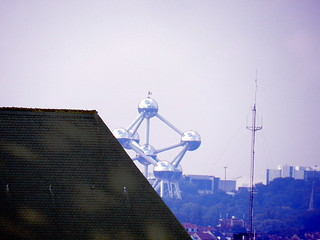 Also from really far away: The Atomium