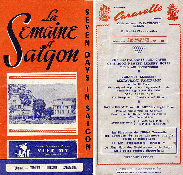 La Semaine à Saigon - May 26, 1973 - (Front & Back Cover)