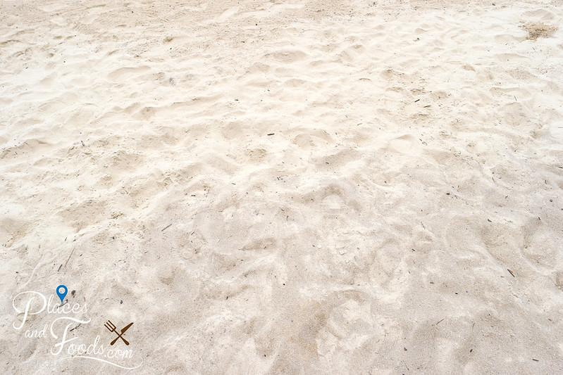 banana beach sand