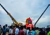 Ganesh Visarjan series   Chennai Foreshore estate 2016.