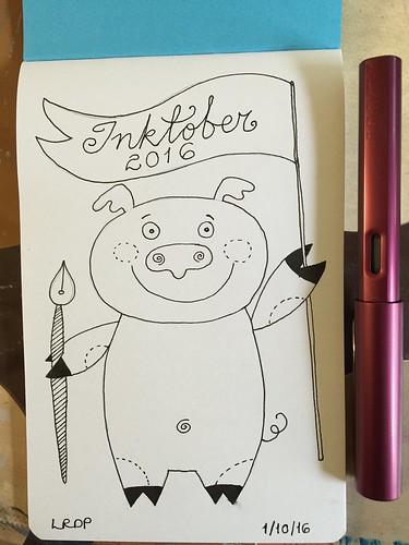1 Inktober 2016 - Pig Pen