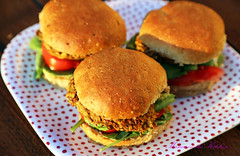 Juicy Vegan Kidney Bean Burgers