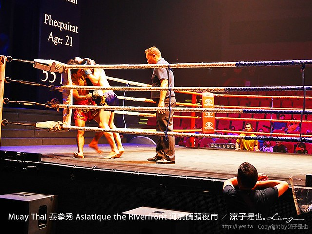 Muay Thai 泰拳秀 Asiatique the Riverfront 河濱碼頭夜市 17