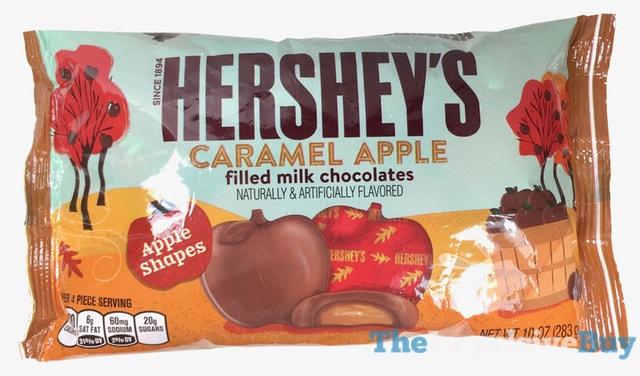 Hershey's Caramel Apple Filled Milk Chocolates