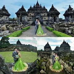 💏 outdoor prewedding photoshoot for Astrid & Rickson at Candi Plaosan Temple Klaten Jawa Tengah. Foto prewedding by @poetrafoto, http://prewedding.poetrafoto.com  Makeup by @dewian_derbyta || Follow IG: @poetrafoto for more pre+wedding photos u