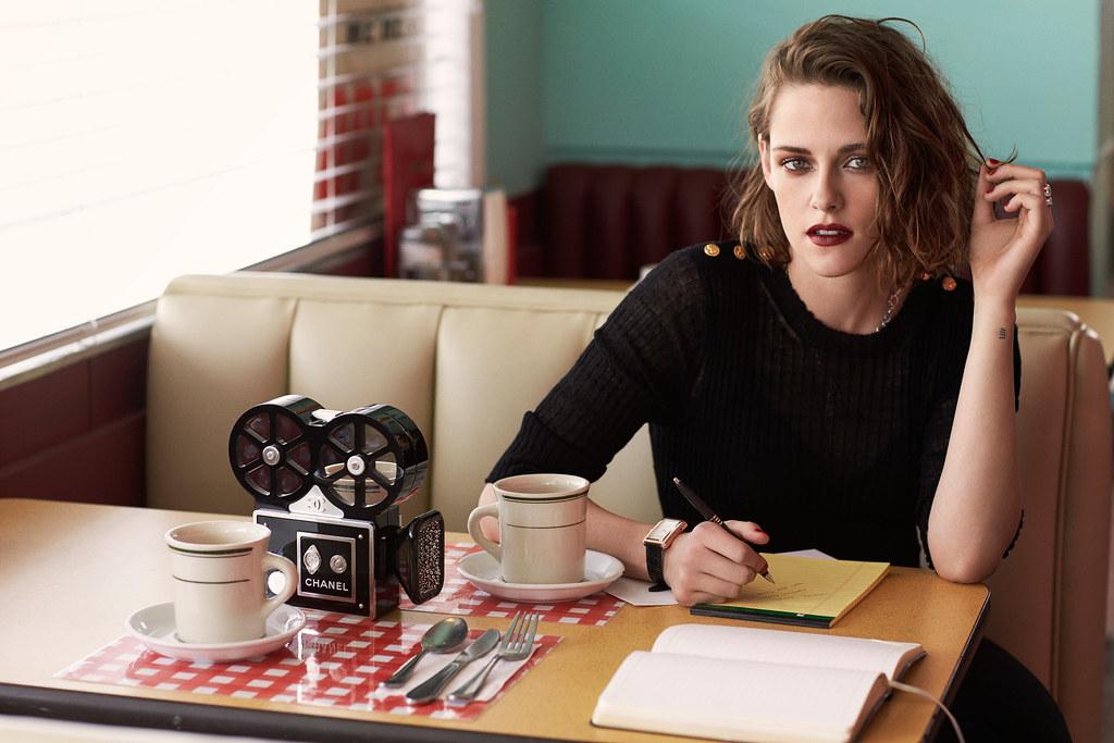 Кристен Стюарт — Фотосессия для «Elle» FR 2016 – 4