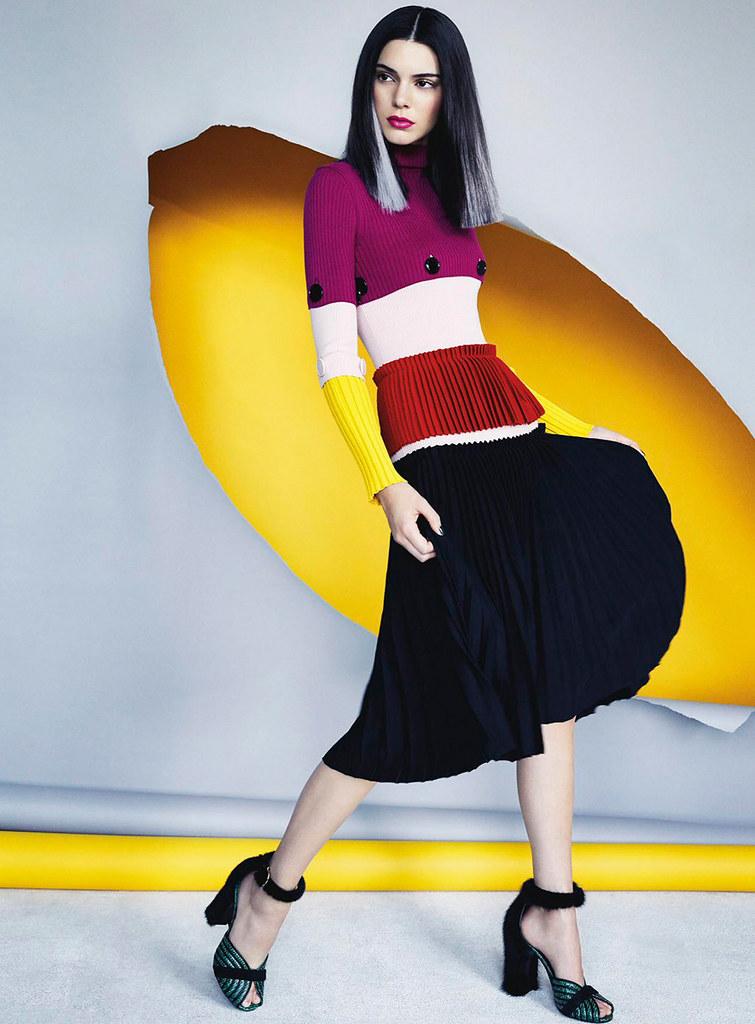 Кендалл Дженнер — Фотосессия для «Vogue» AU 2016 – 5