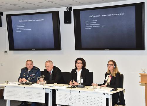 Democratic Civilian Control panel