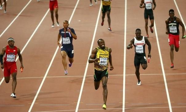 Bolt cierra otro trébol dorado con victoria de Jamaica en 4x100
