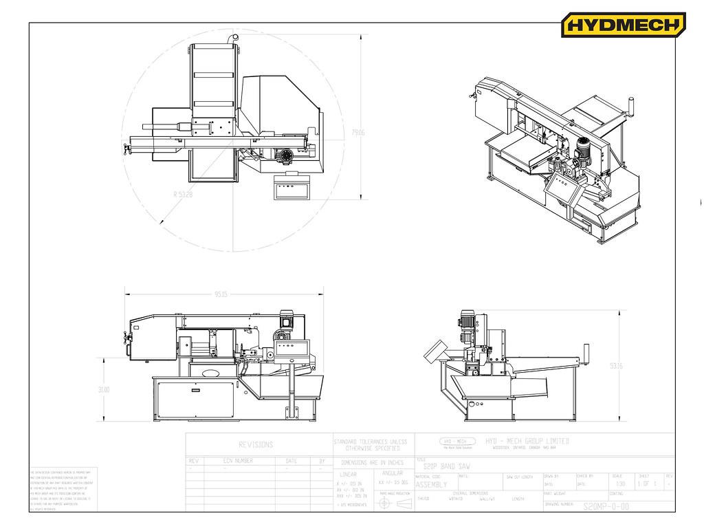 S-20P Floorplan Drawing