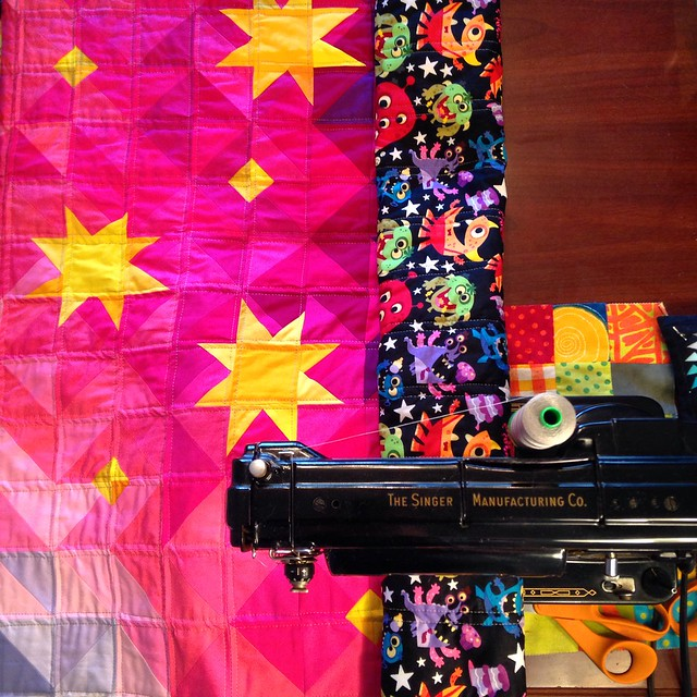 Stardust at Sunrise Baby Quilt