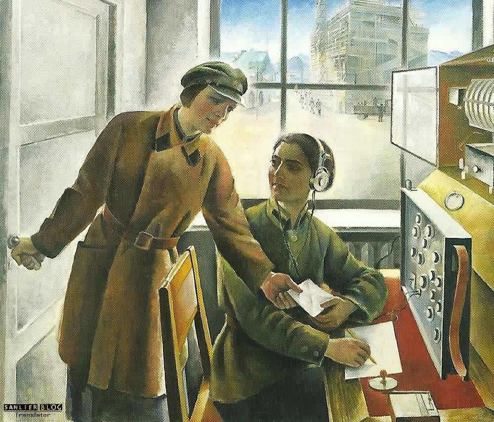 苏联20、30年代各类宣传画19