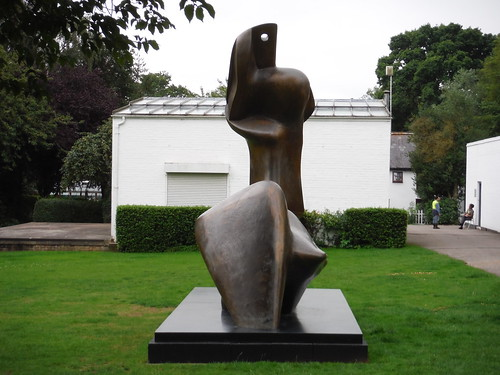 Two Piece Reclining Figure: Cut (1979-81) [II]