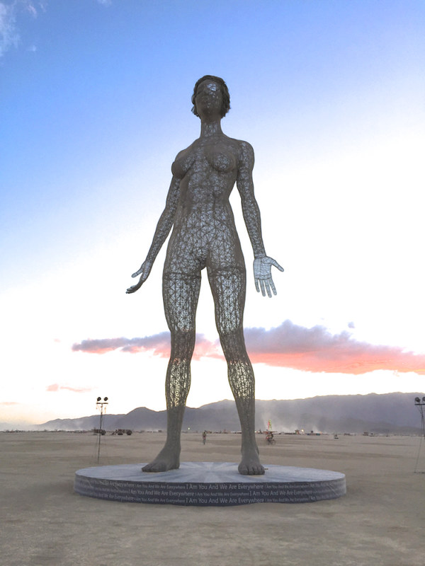 Burning Man 2015 artworks
