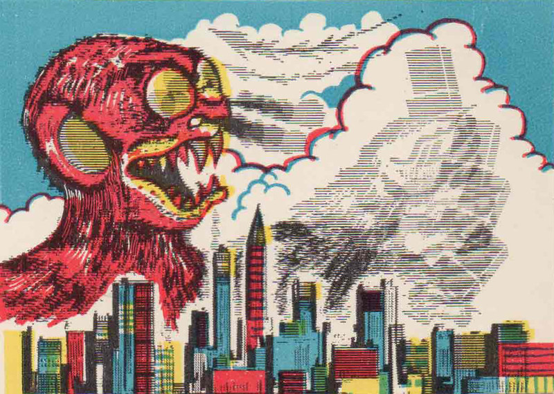 Monster Magic Action Trading Cards (1963) 2