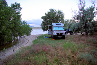 Pathfinder Reservoir, Wyoming July 11, 2010