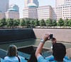 the #worldtradecenter memorial really is.... quite a site. those were big buildings with a lot of people in them.