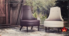 Trompe Loeil - Le Fay Slipper Chairs for Collabor88 September