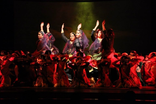 Kathak with Qawwali - Dhalta Suraj Curtain Call