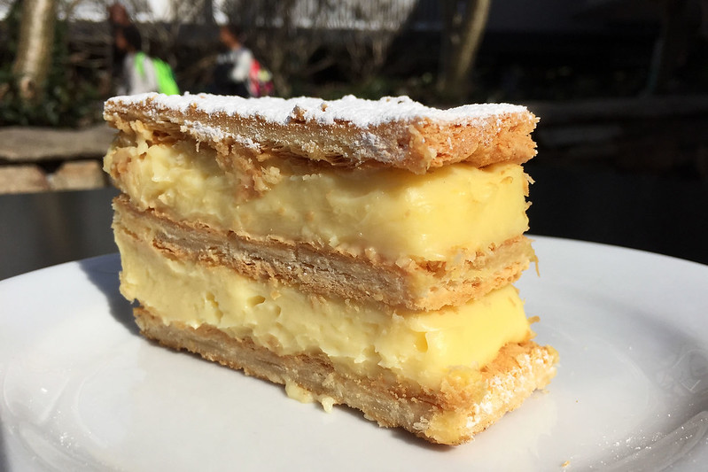 Vanilla slice, Pattison's Patisserie