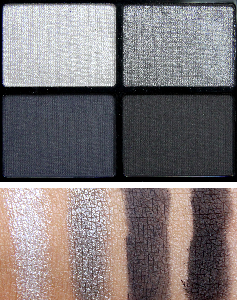 IsaDora Rock & Romance eye shadow quartet moon dust