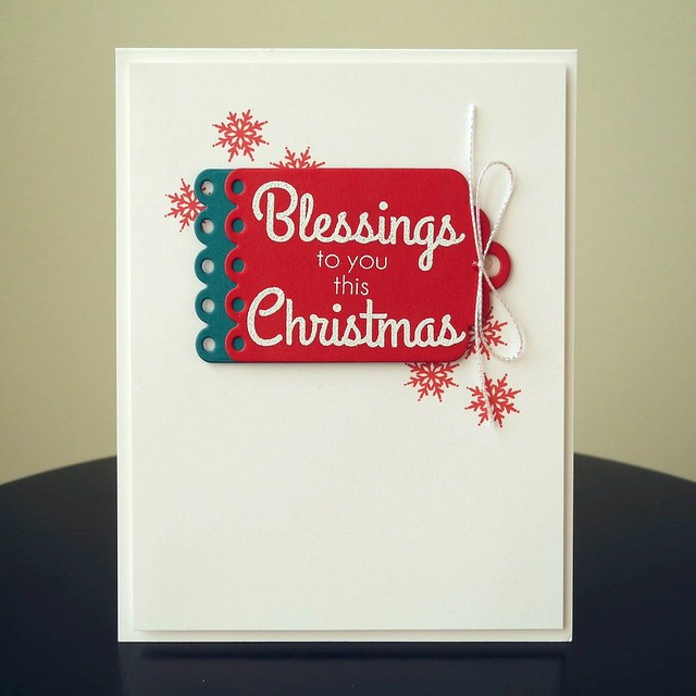 Blessings to You by Jennifer Ingle #Christmas #CASualFridaysStamps #Cards #JustJingle